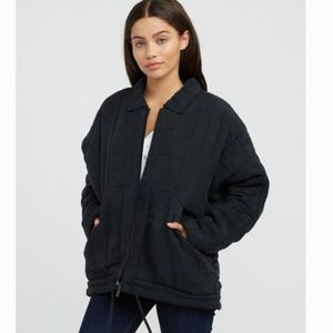 RVCA WOMENS JACKET CARTON QUILTED